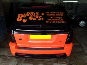 Car detailing - Poole, Dorset - Bubbles - Car