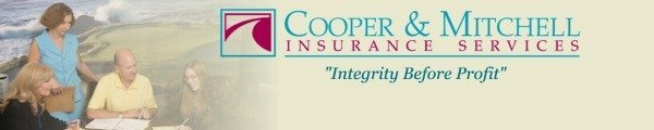 Cooper and Mitchel Insurance header