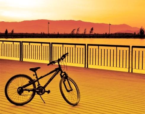 bici-tramonto