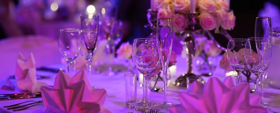 Crockery and Glass Hire