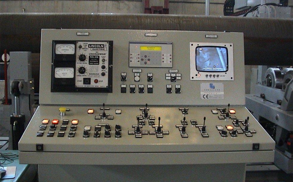 Pulpito di comando per processo industriale