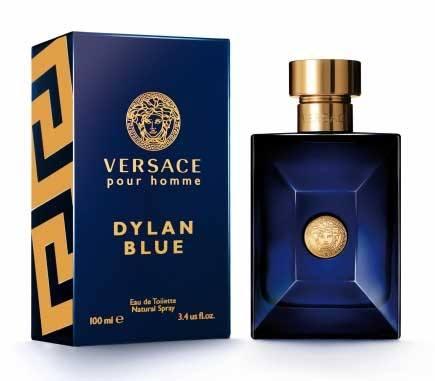 un profumo Versace Pour Homme Dylan Blue