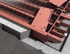 SBP-CO Pesa a ponte modulare in cemento con ponte realizzato in opera