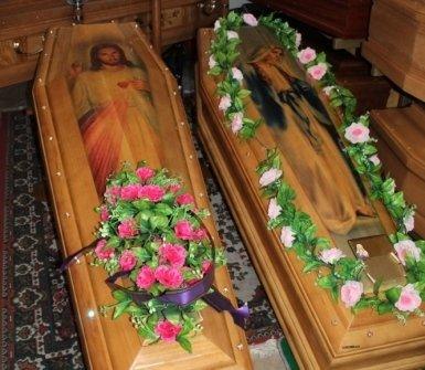 Cofani funebri personalizzati