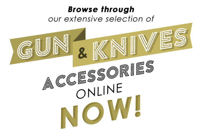 Guns and knives online