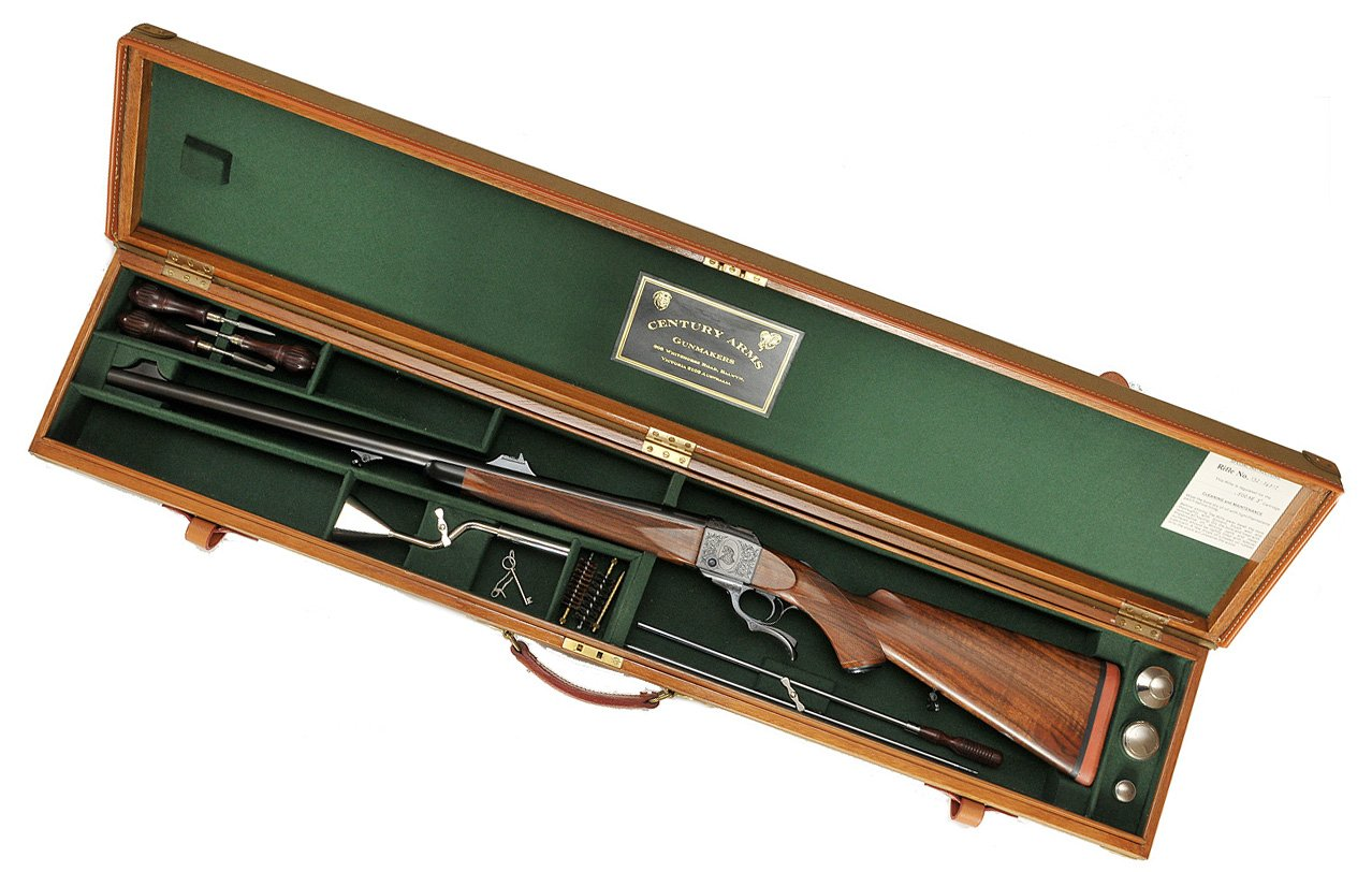 A gun in a gun case