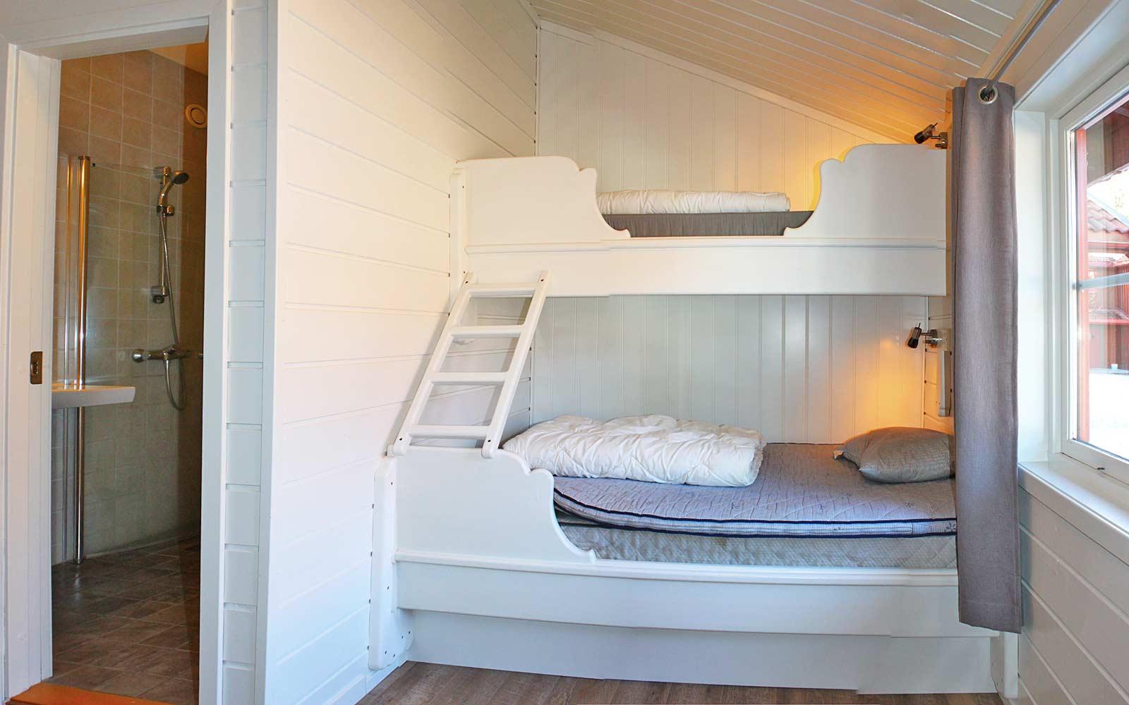 Soverom 3 hytte Gamleskogen Sjumilskogen booking Trysil