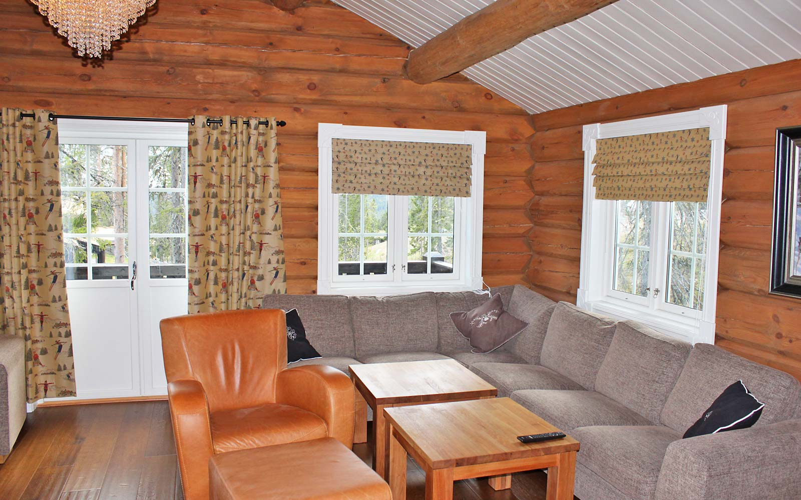 Stue hytte 829 - Sjumilskogen booking Trysil