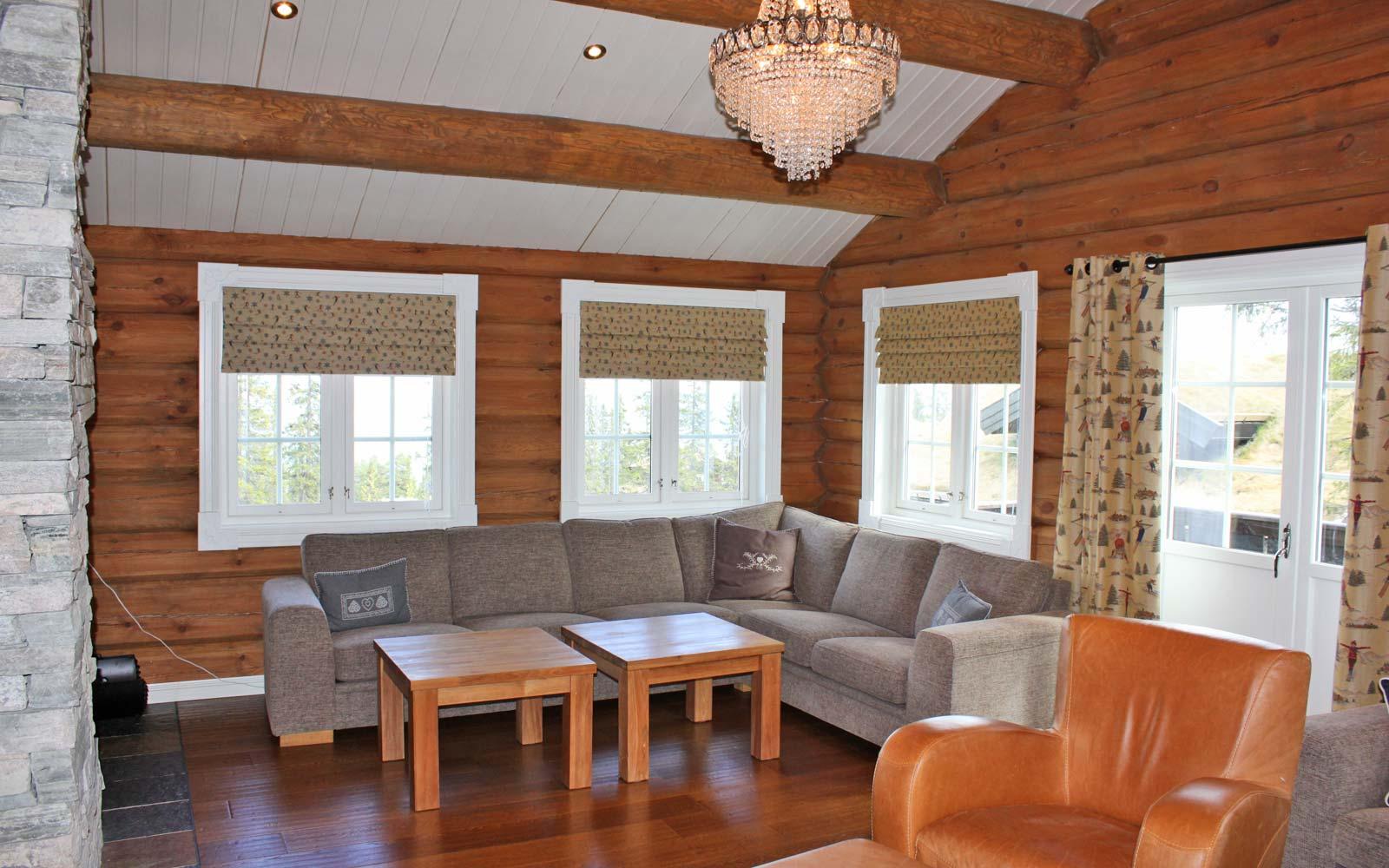 Stue 2 hytte 829 - Sjumilskogen booking Trysil