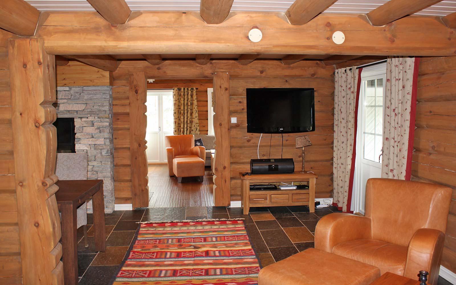 TV stue hytte 829 - Sjumilskogen booking Trysil