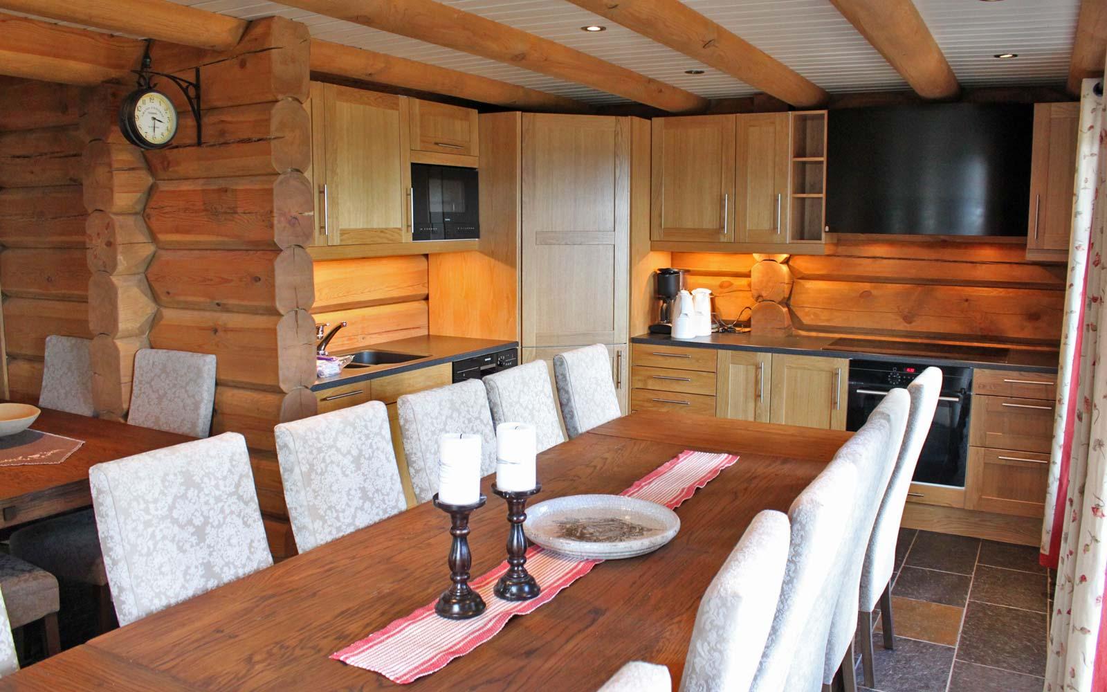 Kjøkken hytte 829 - Sjumilskogen booking Trysil