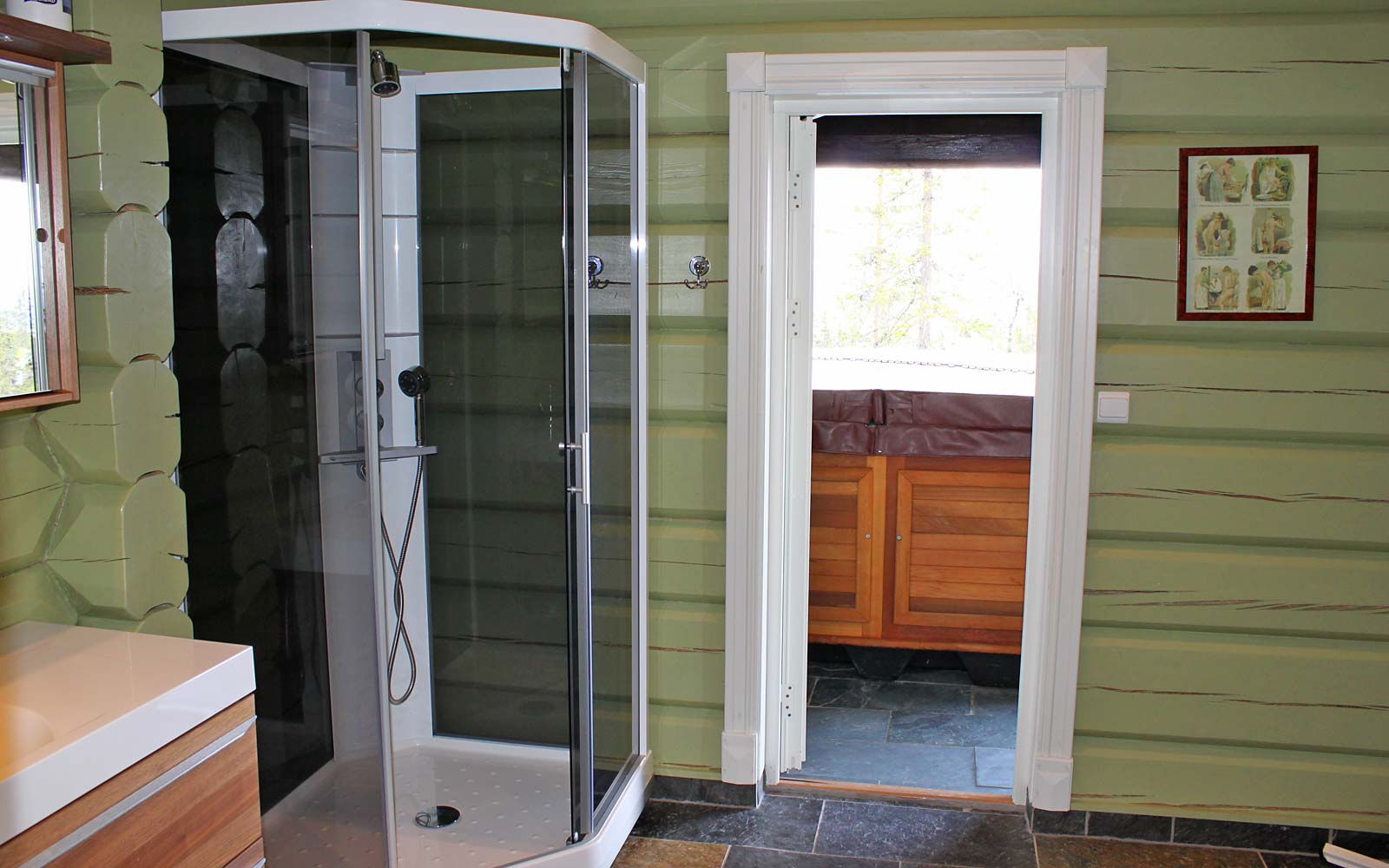Bad 1 hytte 829 - Sjumilskogen booking Trysil