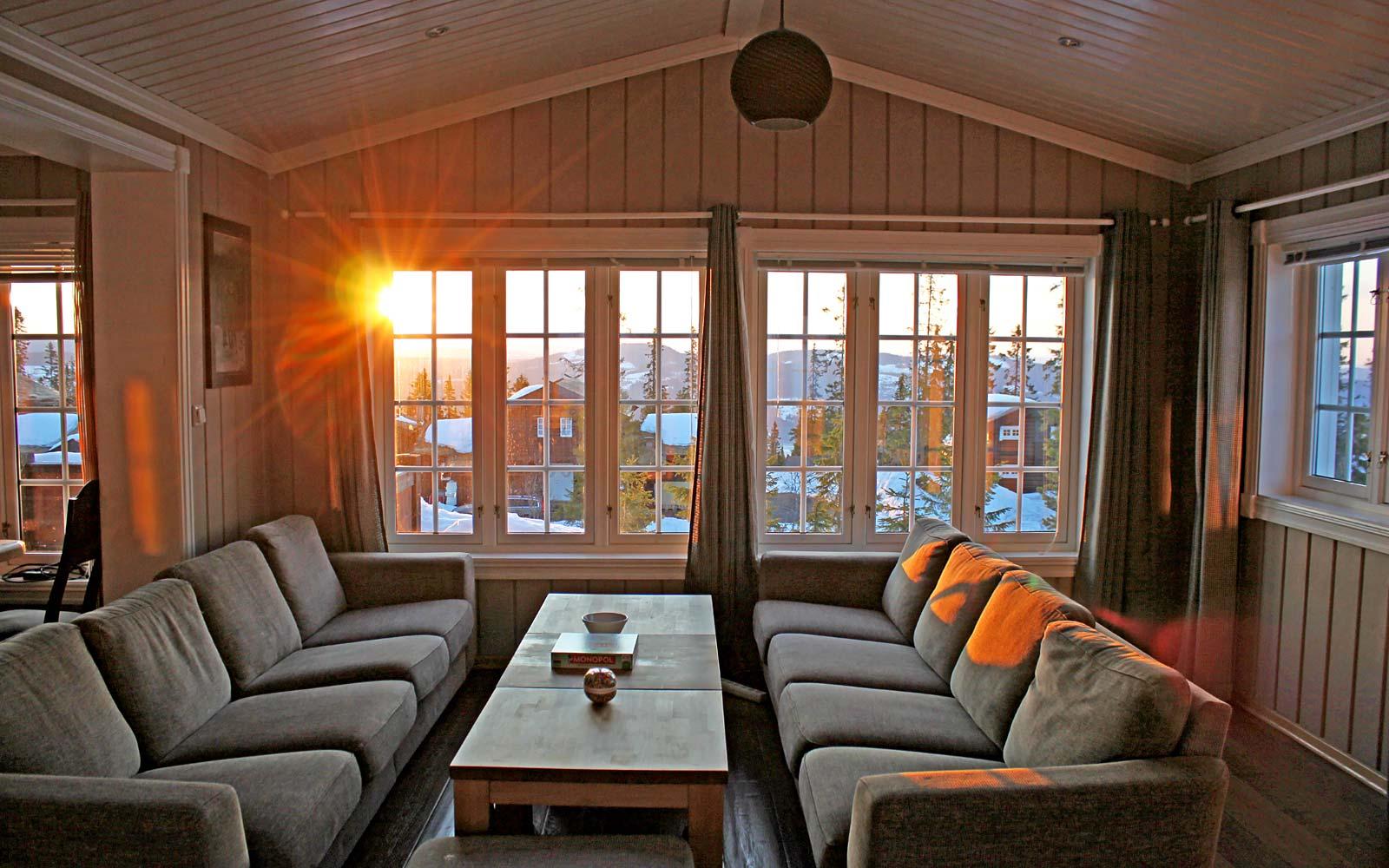 Stuen 3 i hytte 830 - Sjumilskogen booking Trysil