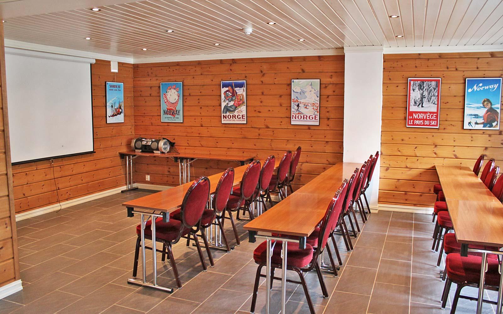 Konferanserom i hytte 830 - Sjumilskogen booking Trysil