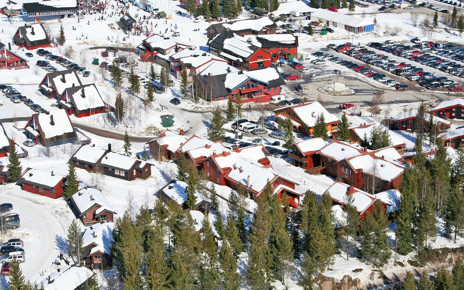Beliggenhet 1 til leilighet Kanken - Sjumilskogen booking Trysil