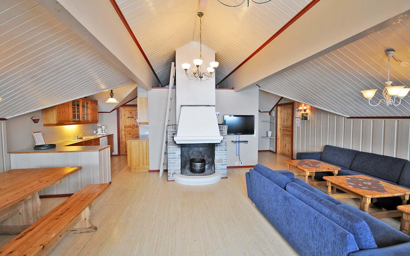 Stuen i leilighet Kanken - Sjumilskogen booking Trysil