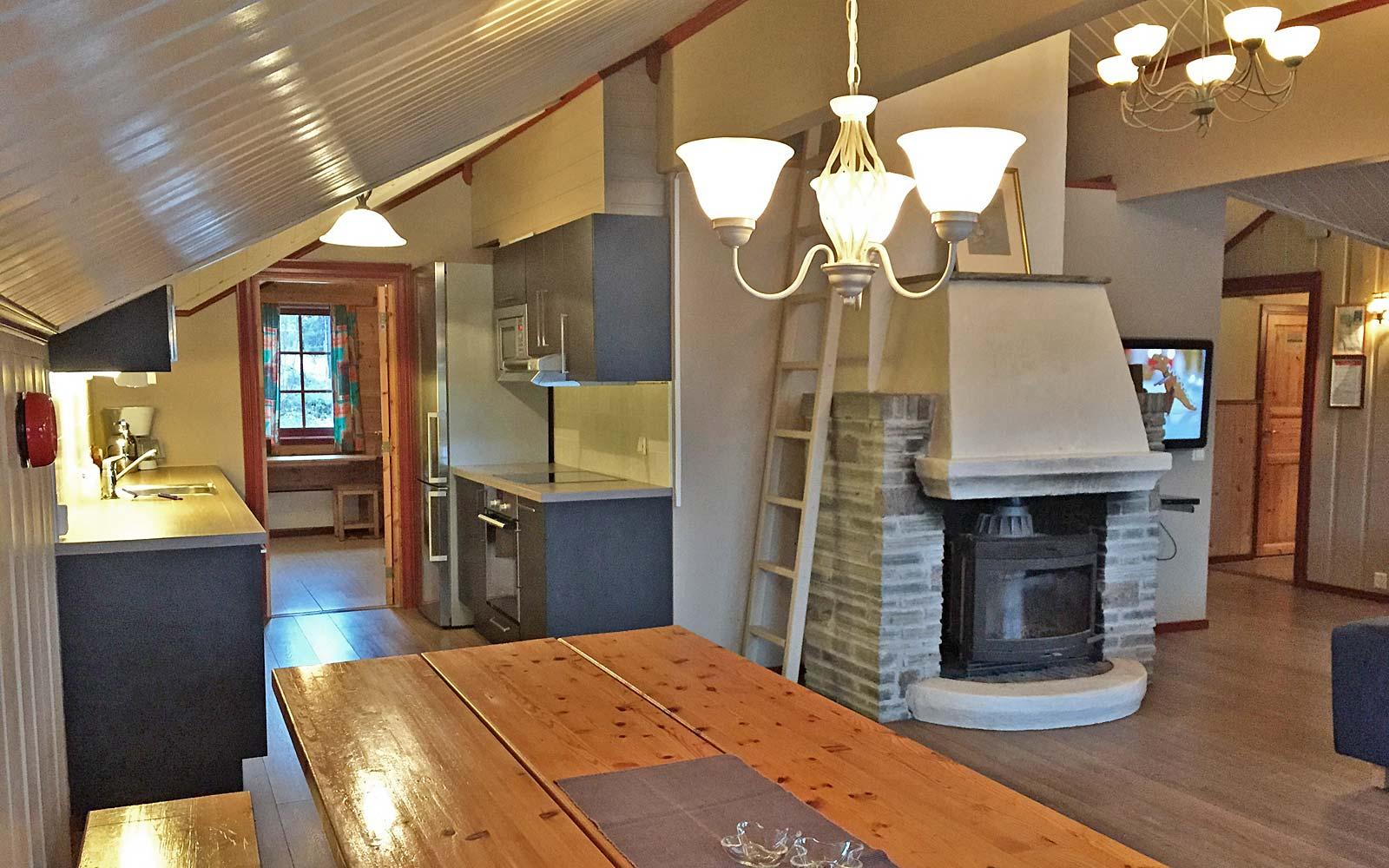 Kjøkkenent i leilighet Kanken - Sjumilskogen booking Trysil