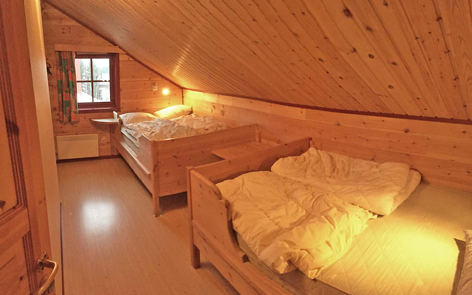 Soverom Kvisten i leilighet Kanken - Sjumilskogen booking Trysil