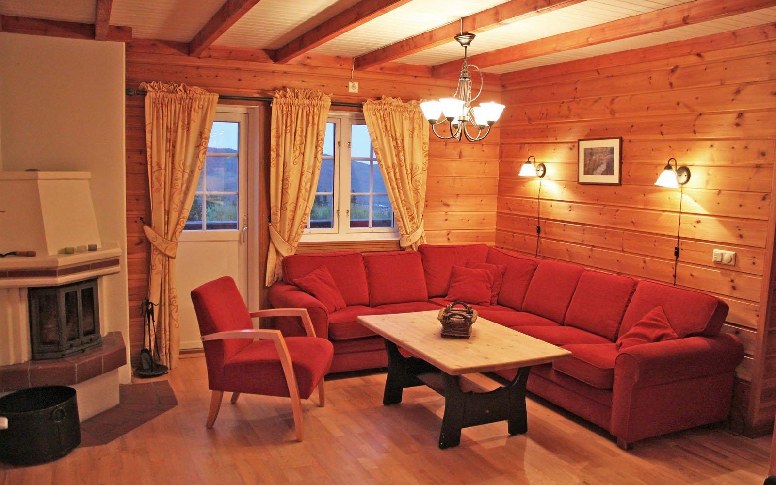 Stuen i leilighet Knettlia 748C - Sjumilskogen booking Trysil
