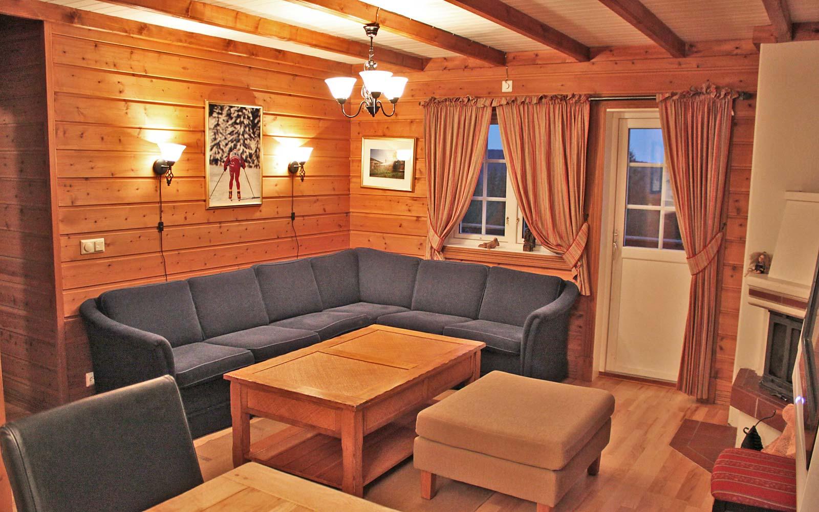 Stue i leilighet Knettlia 748D - Sjumilskogen booking Trysil