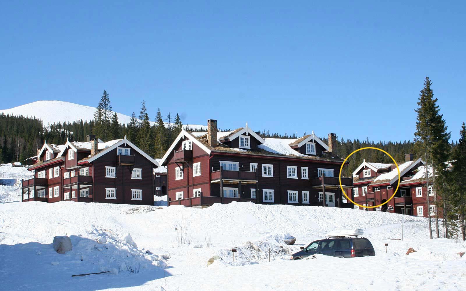 Knettlia leilighetskompleks - Sjumilskogen booking Trysil
