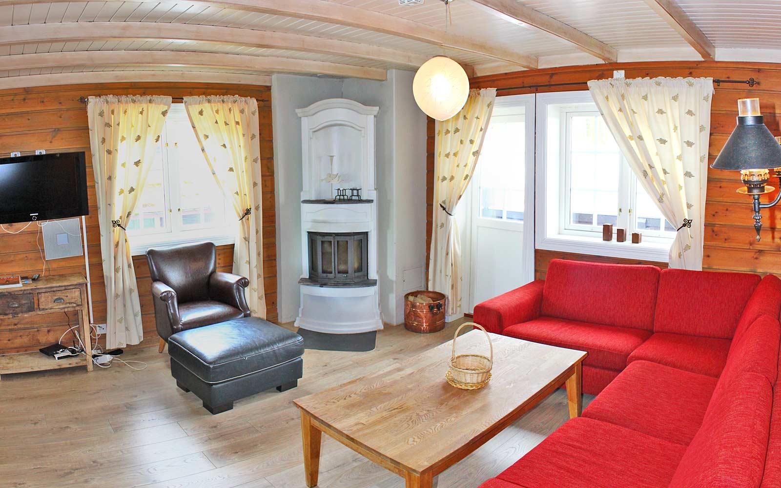 Stuen i leilighet Knettlia 749C - Sjumilskogen booking Trysil