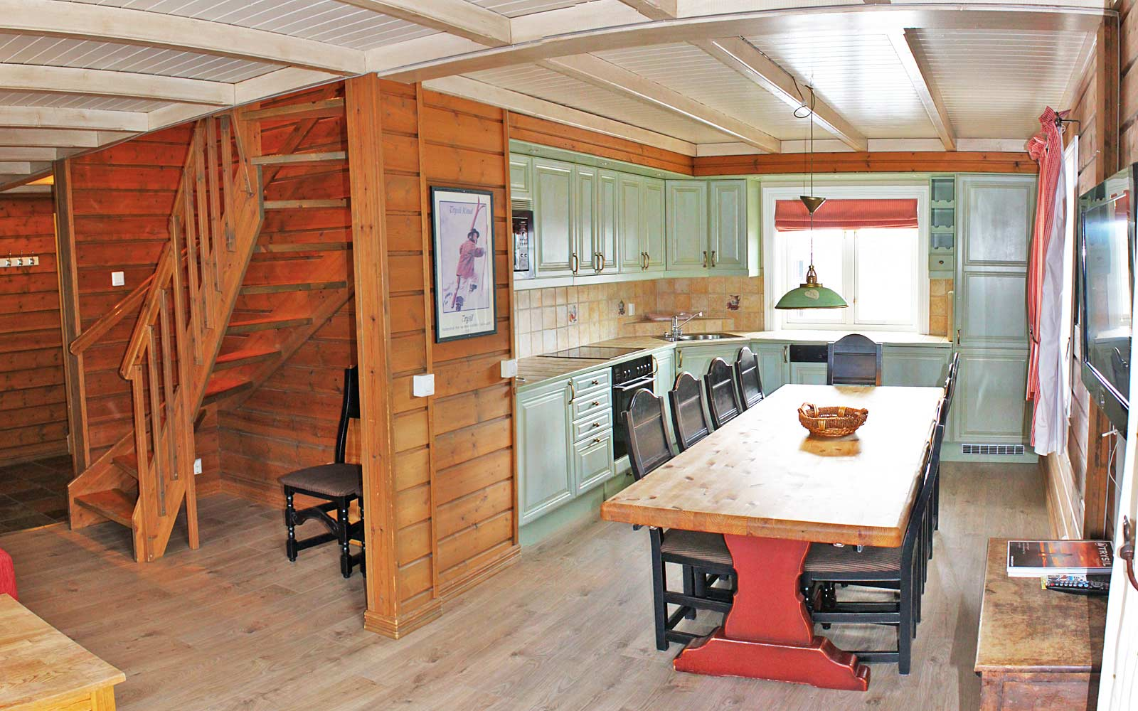 Kjøkken i leilighet Knettlia 749C - Sjumilskogen booking Trysil