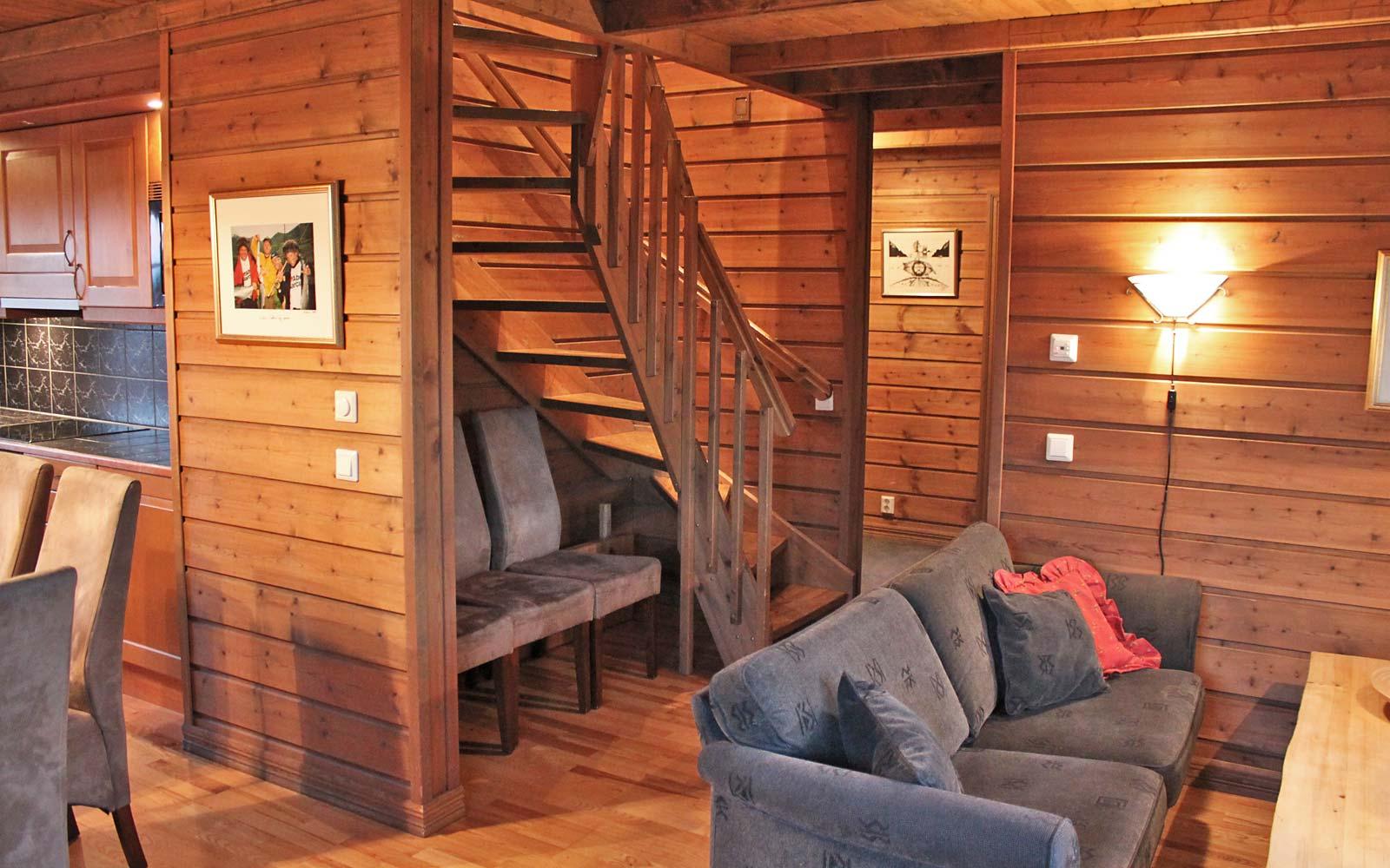 Stuen 2 i leilighet Knettlia 749D - Sjumilskogen booking Trysil