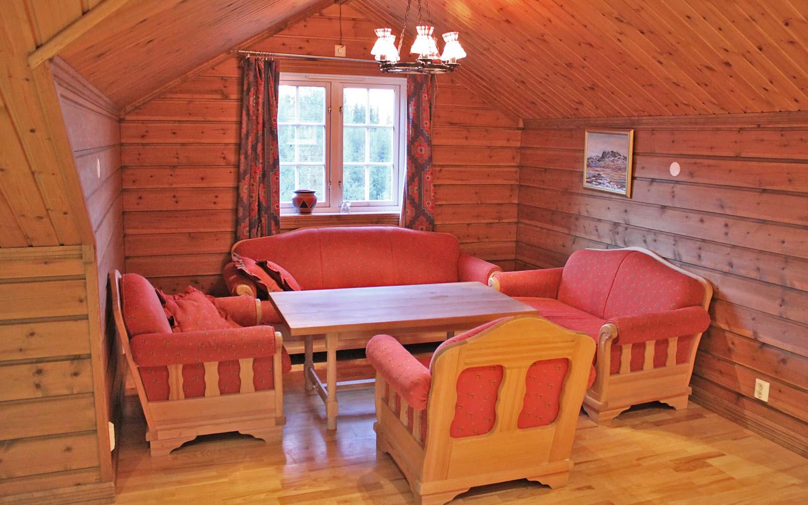 Loftstuen i leilighet Knettlia 749D - Sjumilskogen booking Trysil