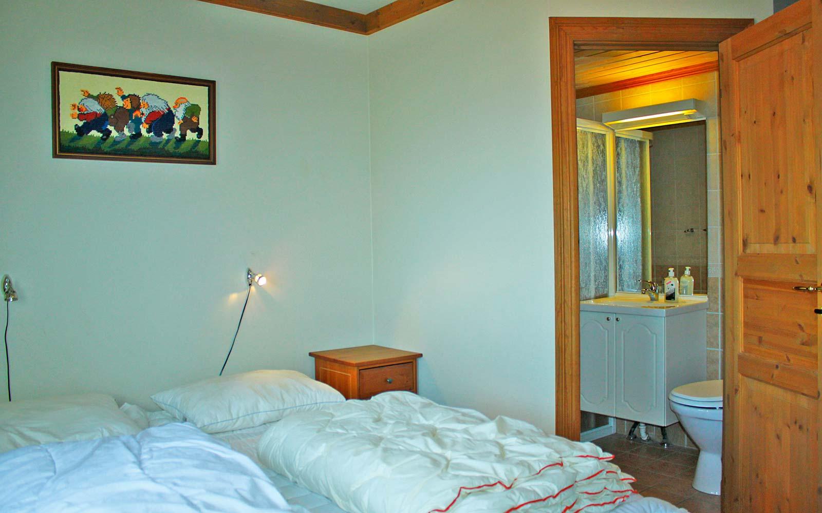 Soverom 1 i leilighet Knettlia 750A - Sjumilskogen booking Trysil