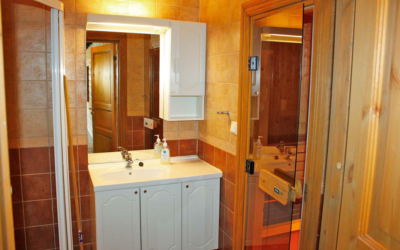 Bad i leilighet Knettlia 750A - Sjumilskogen booking Trysil