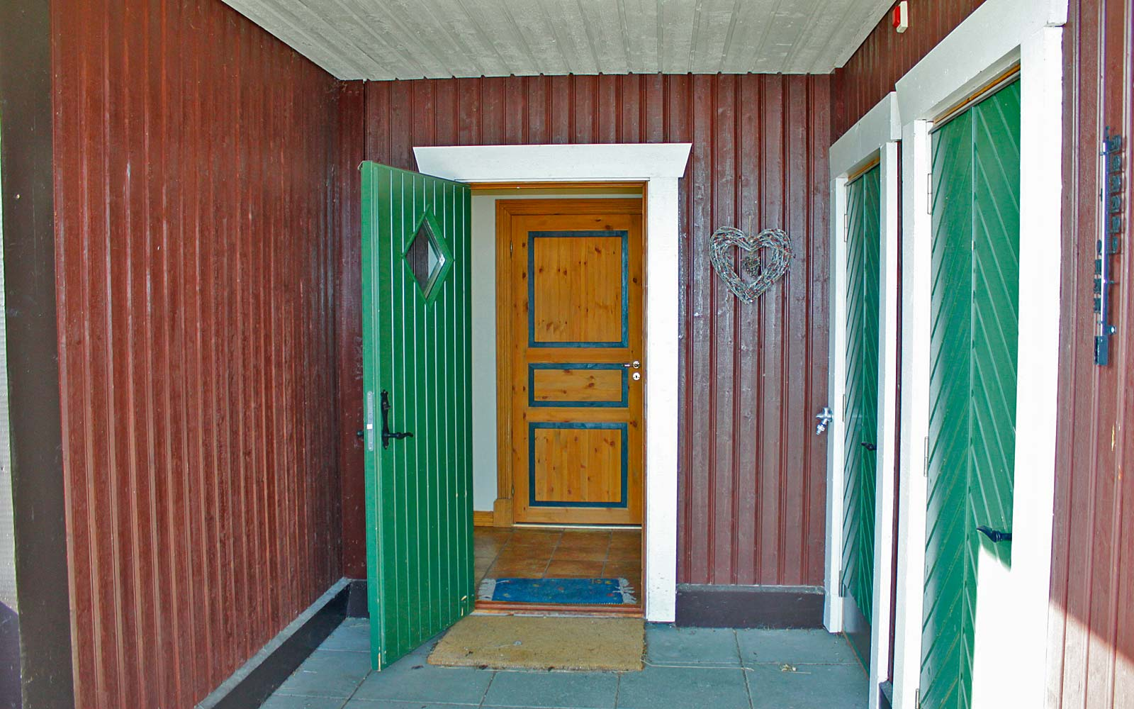 Inngangsparti leilighet Knettlia 750A - Sjumilskogen booking Trysil