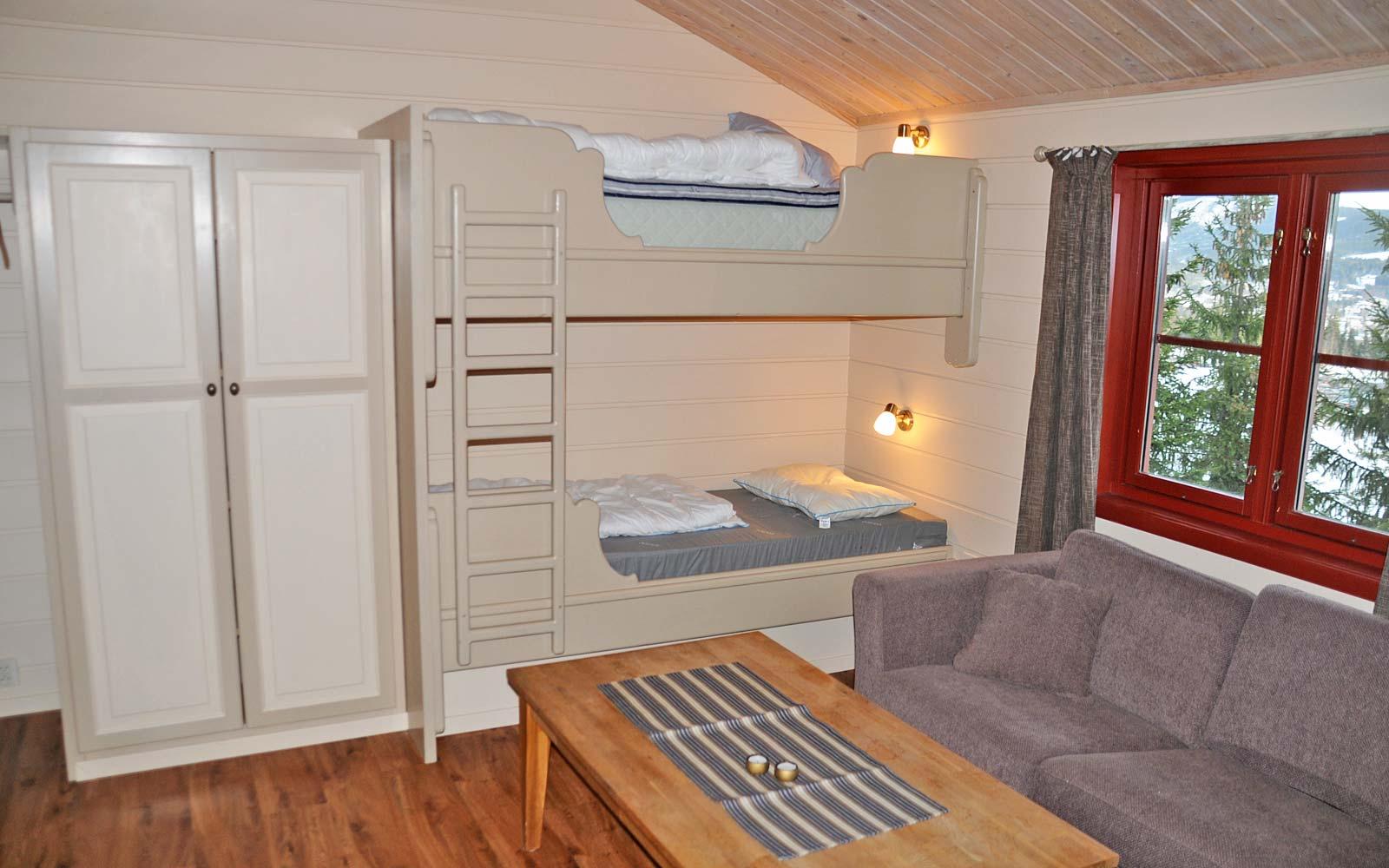 Køyeseng leilighet Kvilsten - Sjumilskogen booking Trysil