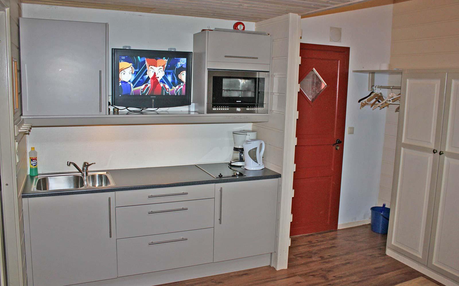 Kjøkken leilighet Kvilsten - Sjumilskogen booking Trysil