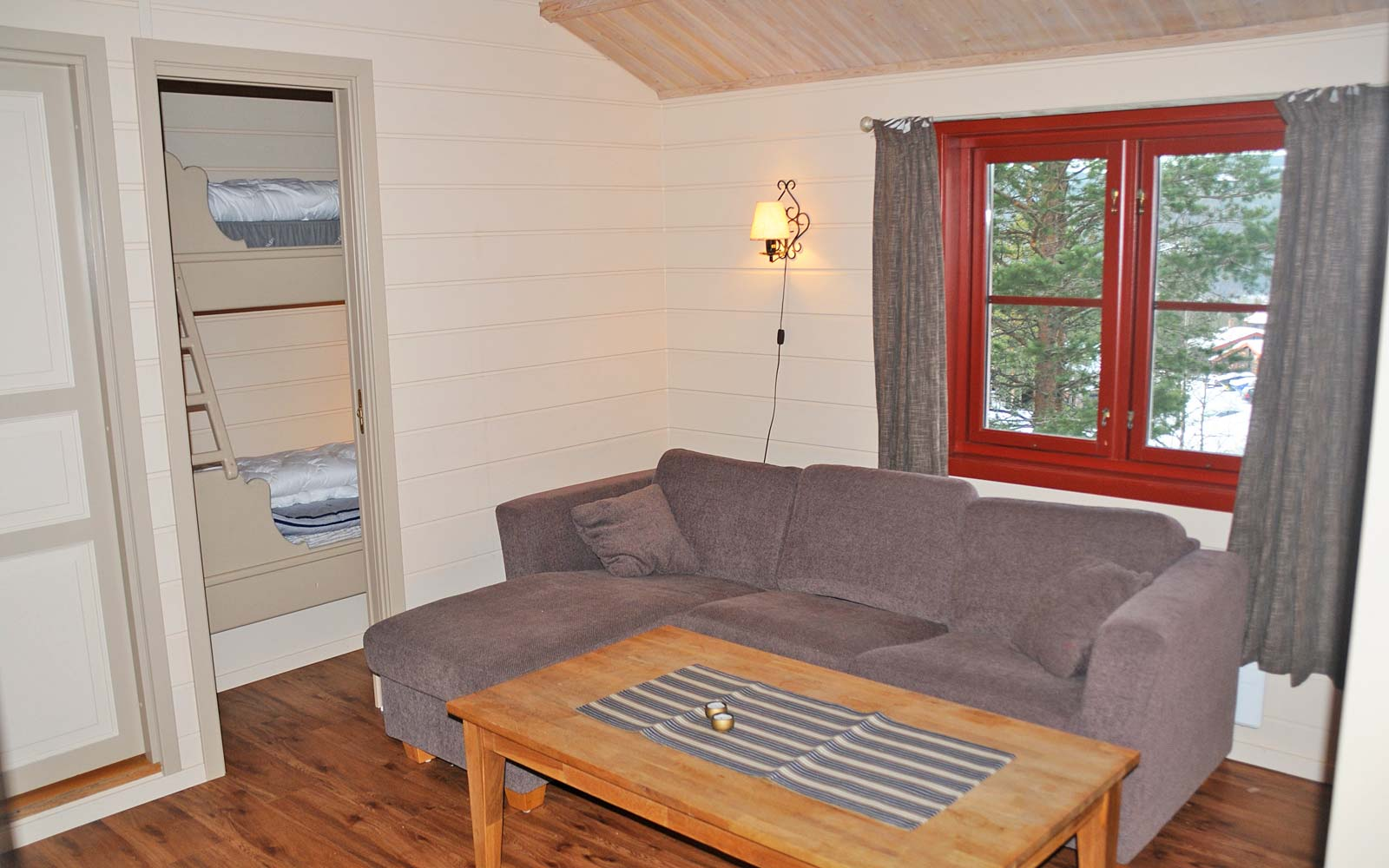 Stue leilighet Risbiten Sjumilskogen booking Trysil