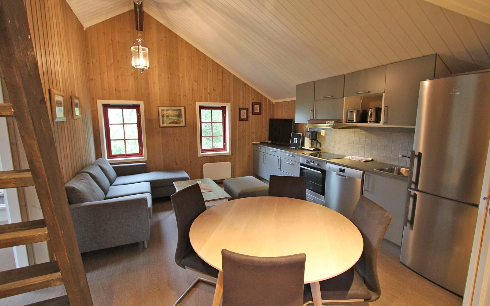 Stue 2 i leiligheten Smørbukk - Sjumilskogen booking Trysil