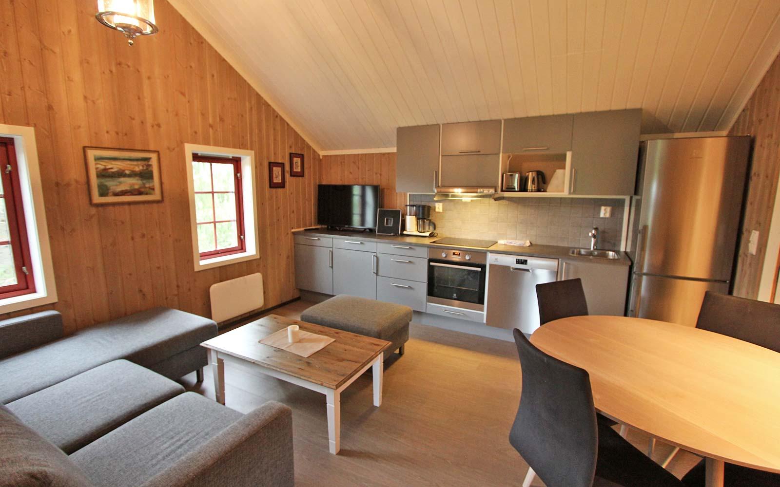 Stue 1 i leiligheten Smørbukk - Sjumilskogen booking Trysil