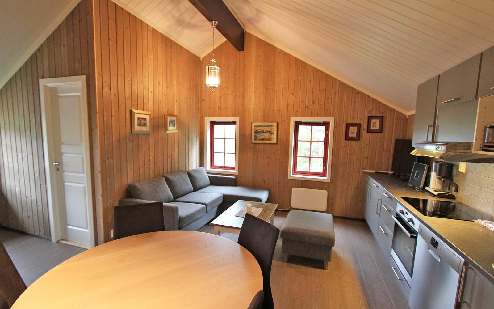 Stue 4 i leiligheten Smørbukk - Sjumilskogen booking Trysil