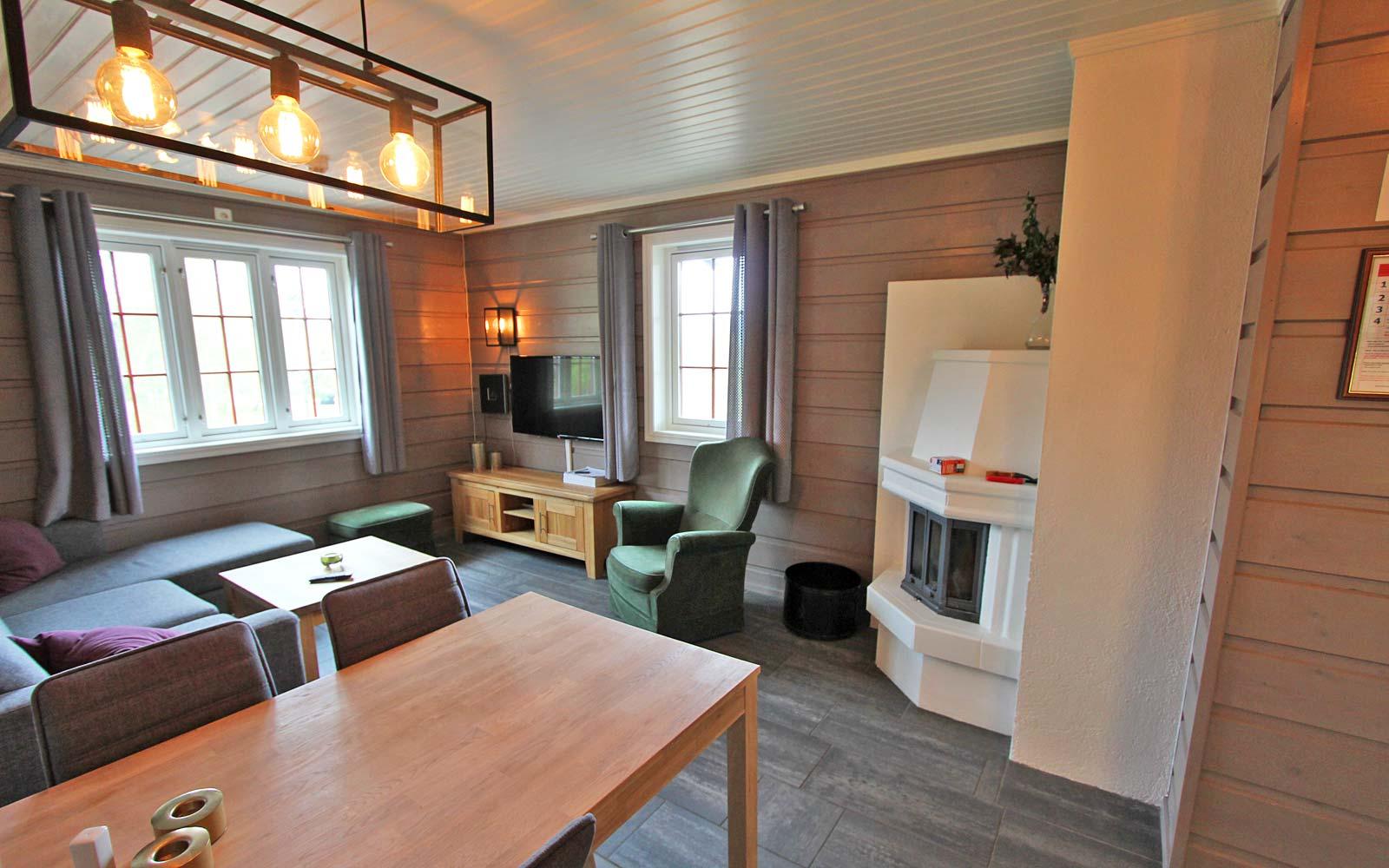 Stue i leilighet Stallen - Sjumilskogen booking Trysil