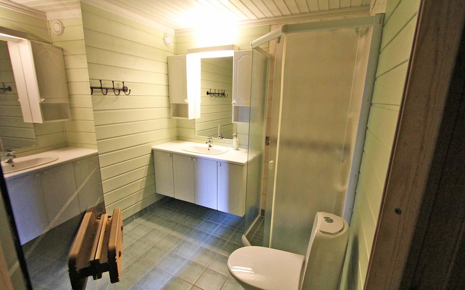 Bad i leilighet Stallen - Sjumilskogen booking Trysil