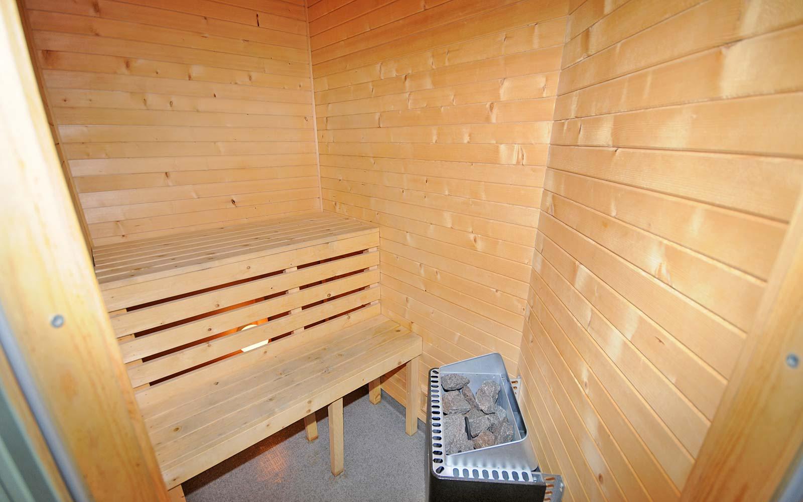 Sauna i leilighet Stallen - Sjumilskogen booking Trysil