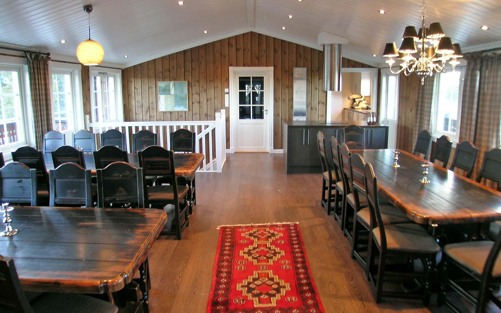 Stue 2 Stanarhaugen stor hytte i Sjumilskogen booking Trysil