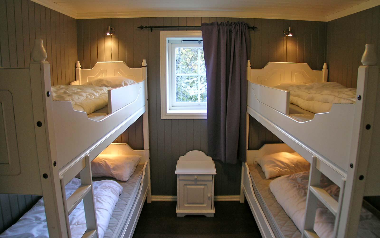 Soverom Stanarhaugen stor hytte i Sjumilskogen booking Trysil