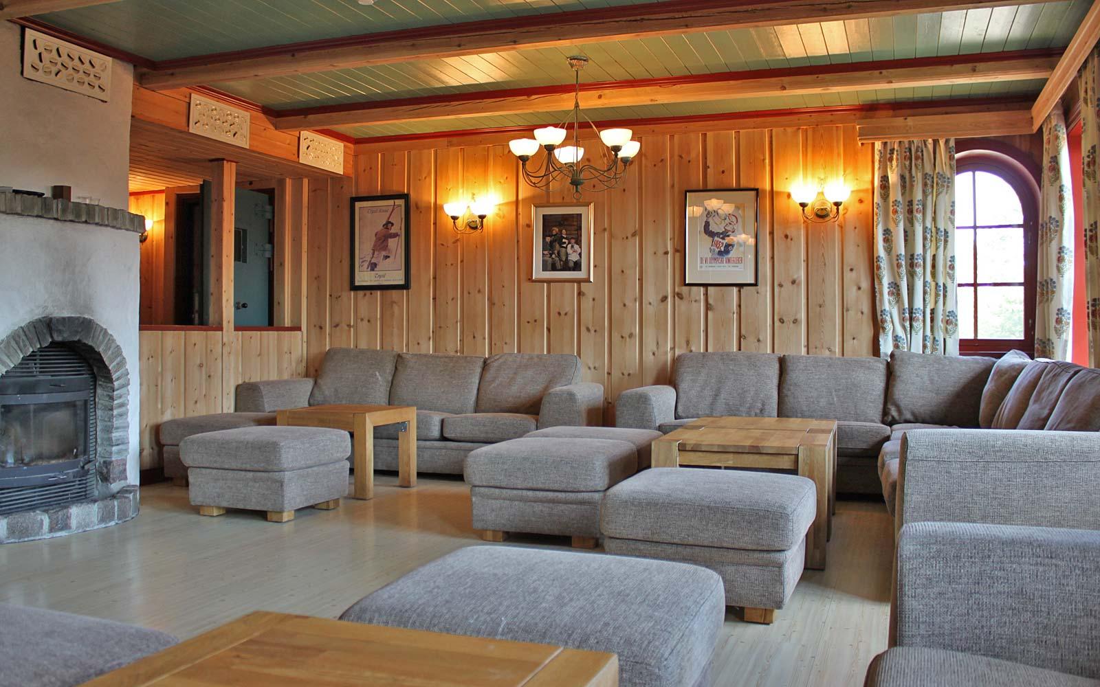 Peisestue 2 hytte Storskogen Sjumilskogen booking Trysil