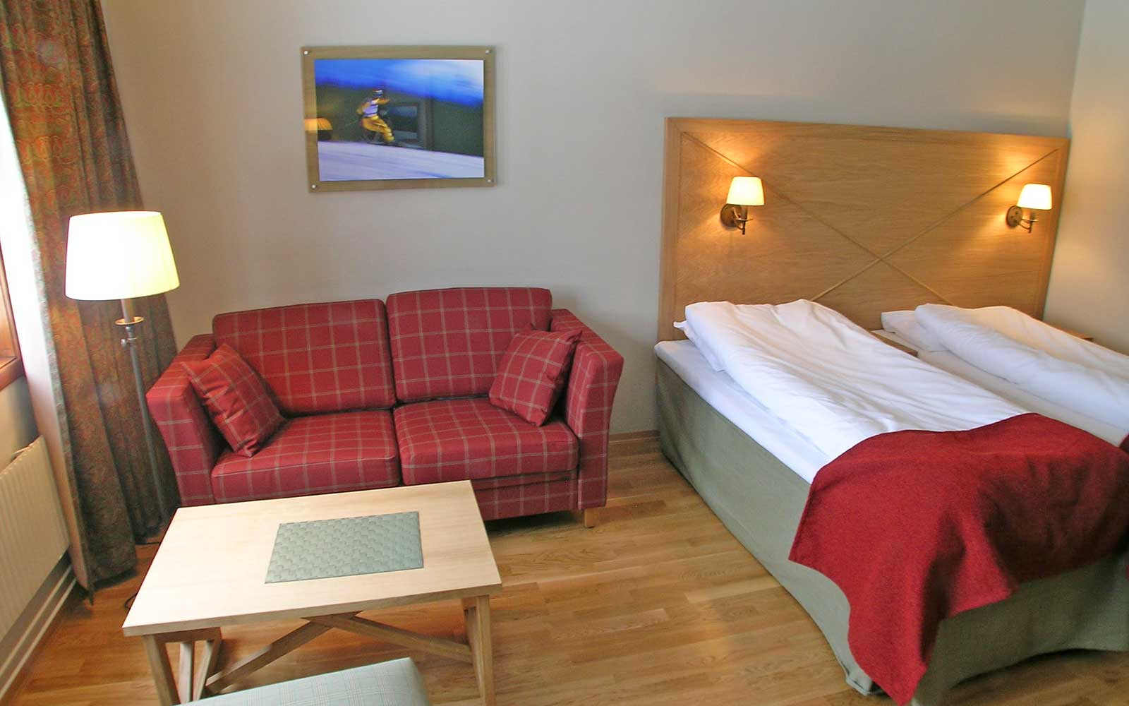 Trysil-Knut Hotell rom 208 Sjumilskogen booking Trysil