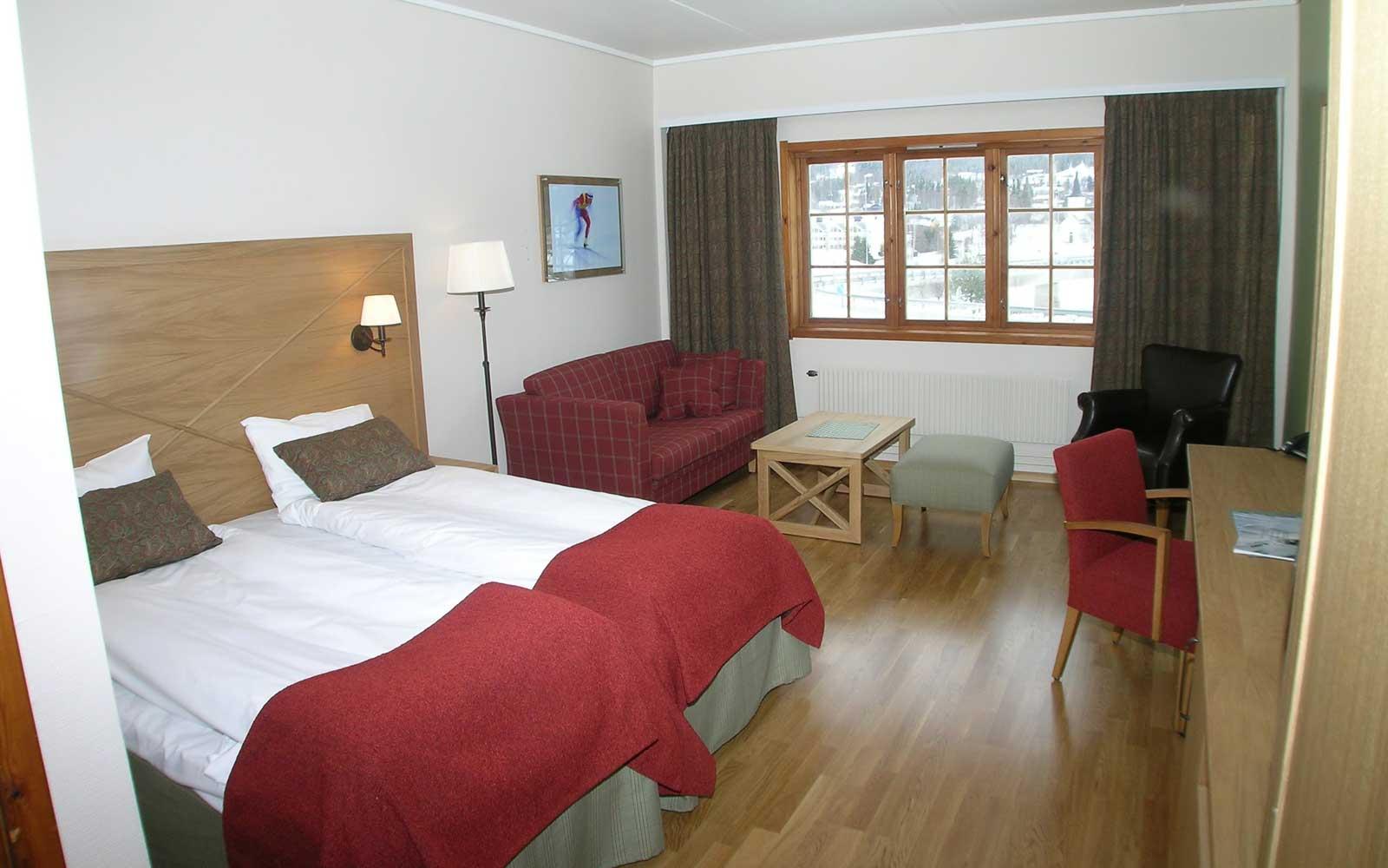Trysil-Knut Hotell rom 222 Sjumilskogen booking Trysil
