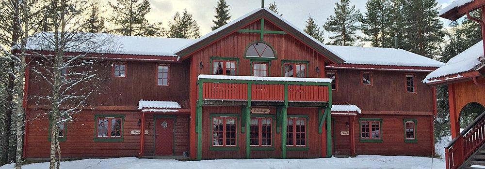 Vesleskogen stor hytte 40 senger - Sjumilskogen booking Trysil