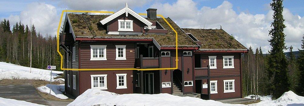 Knettlia 749C leilighet 12p - Sjumilskogen booking Trysil