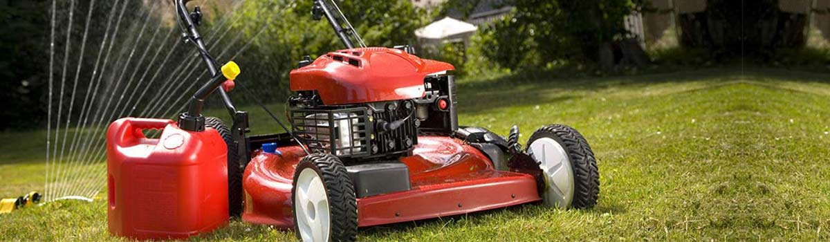 Mower fixed by our lawn mower repairs in Hobart
