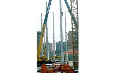 pilastri per edilizia